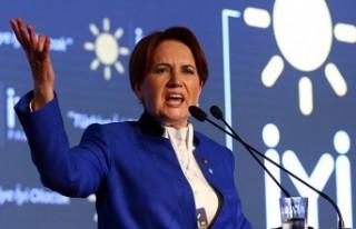 Meral Akşener İYİ Parti'nin 'oyunu ve hedefini'...