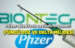 Pfizer-BioNTech sevindiren haber: 3'üncü doz aşı...