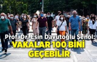 Prof. Dr. Esin Davutoğlu Şenol: Vakalar 100 bini...
