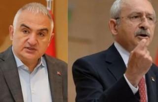 Bakan Ersoy'dan Kılıçdaroğlu'na 'yapılaşma...