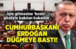 Cumhurbaşkanı Erdoğan düğmeye bastı! İşte...