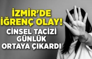 İzmir'de üvey baba tacizi! Cinsel tacizi günlük...