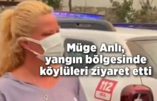 Müge Anlı, yangın felaketinin yaşandığı Antalya'da...