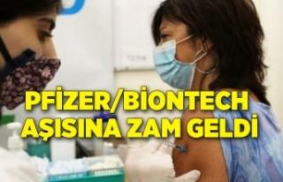Pfizer/BioNTech aşısına zam geldi