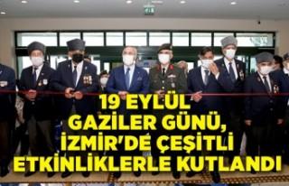 19 Eylül Gaziler Günü, İzmir'de kutlandı