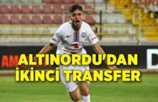 Altınordu'dan Bundesliga'ya ikinci transfer
