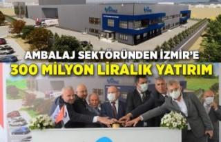 Ambalaj sektöründen İzmir'e 300 milyon liralık...
