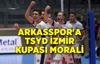 Arkasspor'a TSYD İzmir Kupası morali