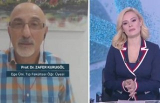 Aşı sözleriyle tepki çeken Prof. Dr. Zafer Kurugöl'den...