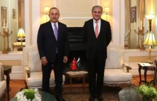 Bakan Çavuşoğlu, Pakistan Dışişleri Bakanı...