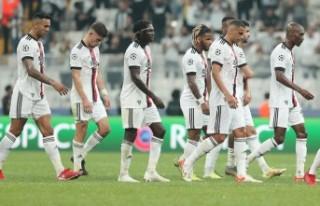 Beşiktaş Borussia Dortmund'a 2-1 yenildi