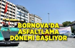 Bornova'da Asfalt Üretim Tesisi için geri sayım...