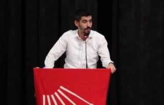 CHP Denizli Gençlik Kolları Başkanı Tugay Odabaşıoğlu...