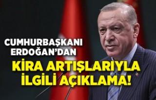 Cumhurbaşkanı Erdoğan'dan kira-gıda fiyatlarıyla...