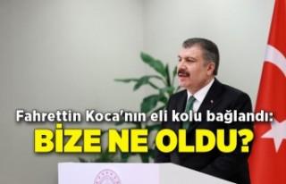 Fahrettin Koca'nın eli kolu bağlandı: Bize...