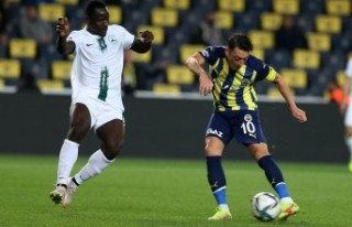 Fenerbahçe: 2 - GZT Giresunspor: 1