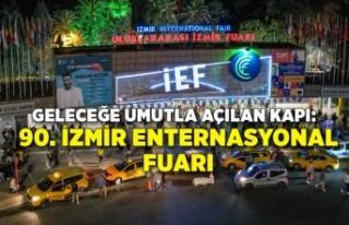 Geleceğe umutla açılan kapı: 90. İzmir Enternasyonal...