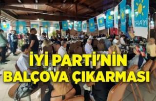 İYİ Parti'nin Balçova çıkarması