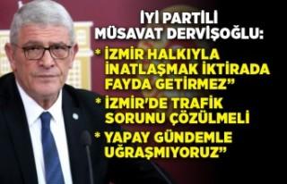 İYİ Partili Müsavat Dervişoğlu'ndan önemli...