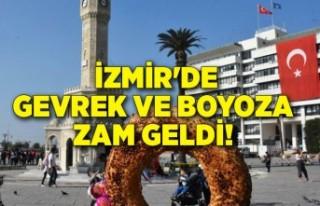 İzmir'de gevrek ve boyoza zam geldi!