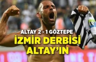 İzmir derbisini Altay kazandı