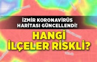İzmir koronavirüs haritası güncellendi! Hangi...