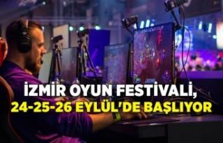 İzmir Oyun Festivali, 24-25-26 Eylül'de başlıyor