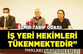 İzmir Tabip Odası'ndan iş yeri hekimlerine...