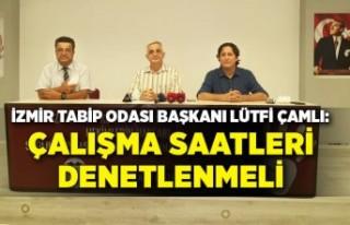 İzmir Tabip Odası, sağlık alanındaki sorunları...