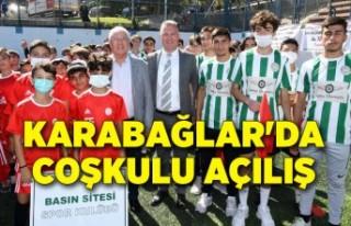 Karabağlar'da amatör spor kulüplerine coşkulu...