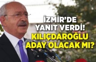 Kemal Kılıçdaroğlu 'Aday olacak mısınız?'...