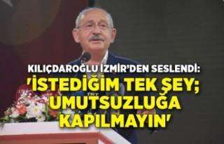Kılıçdaroğlu: Bir ülke kaynağını önce çocukları...