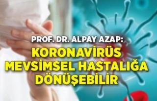 Prof. Dr. Azap: Koronavirüs grip gibi mevsimsel bir...