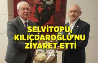 Selvitopu, Kılıçdaroğlu'nu ziyaret etti