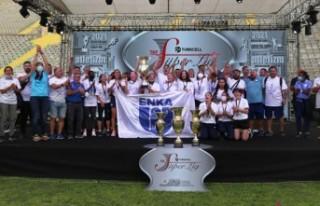 Turkcell Atletizm Süper Ligi'nde şampiyon Enka