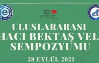 """""""Uluslararası Hacı Bektaş Veli sempozyumu"""""""