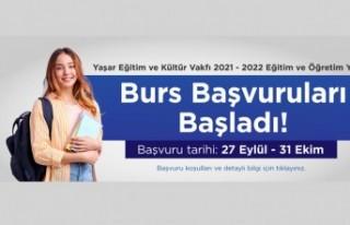Yaşar Eğitim ve Kültür Vakfı burs başvuruları...