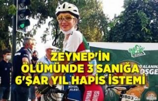 Zeynep'in ölümünde 3 sanığa 6'şar...