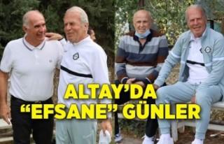 """Altay'da """"efsane"""" günler"""