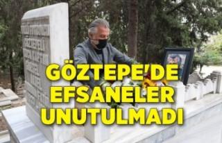 Göztepe'de efsaneler unutulmadı