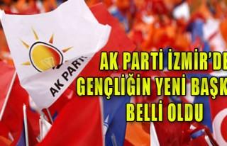 AK Parti İzmir'de gençliğin yeni başkanı belli...