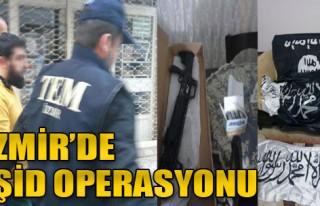İzmir'de, IŞİD'e Baskın