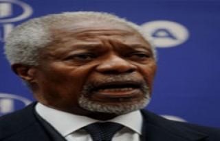 Annan: 'Silahlar Susmalı!'