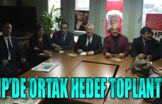 CHP'den Ortak Hedef Toplantısı