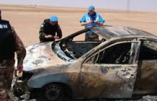 Saldırılardan BM Gözlemcileri de Etkilendi