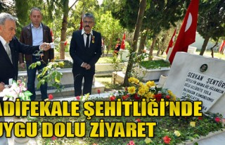 İzmir'de Şehitlere Vefa Ziyareti
