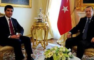 Erdoğan Barzani İle Görüştü