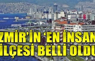 186 kent listede: İzmir'in 'en insani' ilçesi belli...