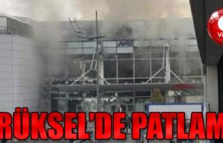 Brüksel'de Patlama!