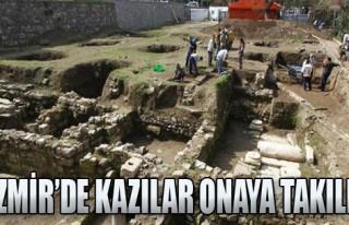 İzmir'de Kazılar Onaya Takıldı